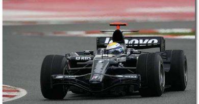 F1: Williams só usará Kers a partir da sétima etapa