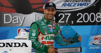 IndyCar: Tony Kanaan marca a pole-position em Richmond