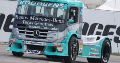 Truck: Ramires, com caminhão 'parcialmente novo', prevê boa corrida em Interlagos