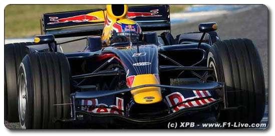 F1: Webber diz que novo Red Bull é o carro mais bonito