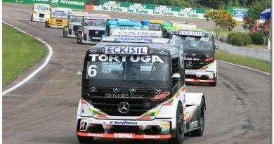 Truck: Chuva tira vitória de Cirino em Guaporé