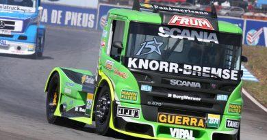 Truck: Mais rápido no primeiro treino, Roberval promete abrir reação