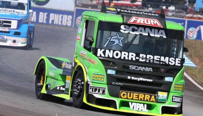 Truck: Com domínio da Scania, Roberval fecha o dia como mais rápido em Goiânia
