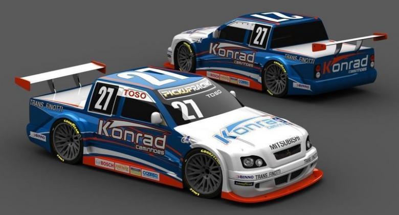 Pick-Up: Toso retoma parceria para temporada 2009 da Pick-up Racing