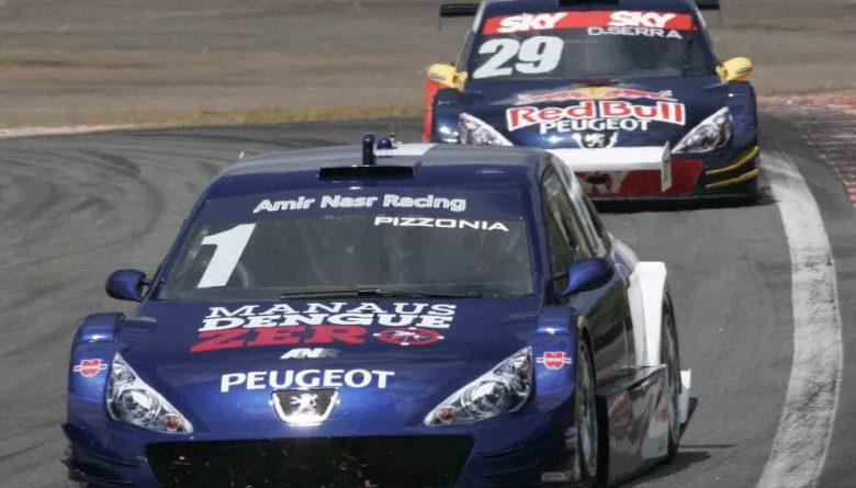 Stock: Antonio Pizzonia é o segundo mais rápido do dia em Curitiba