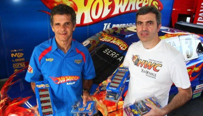Stock Car: Super colecionador visita equipe Hot Wheels Racing