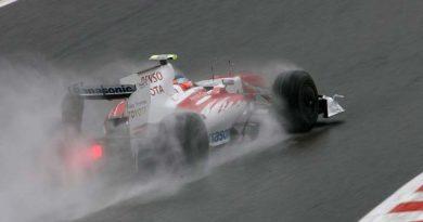 F1: Na chuva, Jarno Trulli é o mais rápido em Spa-Francorchamps; Rubinho é o sexto