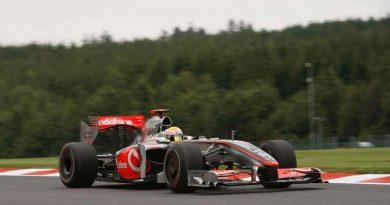 F1: Lewis Hamilton é o mais rápido do dia em Spa