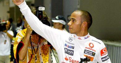 F1: Hamilton celebra pole 'fantástica' em Cingapura