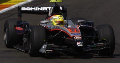 GP2 Series: Luiz Razia escapa da pista e abandona em Valência