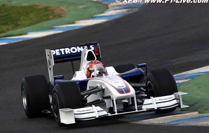 F1: 'Prejudicada', BMW Sauber reforça protesto contra difusores