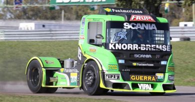 Truck: Roberval Andrade larga na pole em Buenos Aires