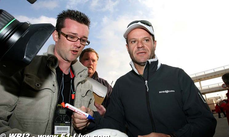 F1: Vice-líder, Barrichello diz que 1ª vitória está próxima