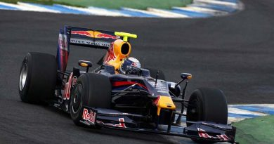 F1: Vettel fecha manhã 1s6 à frente de Massa em Jerez