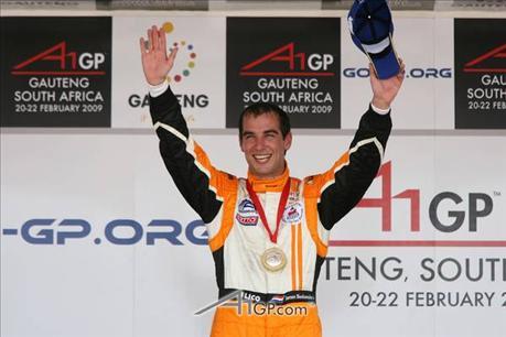 A1GP: Holanda consegue sua primeira vitória na categoria