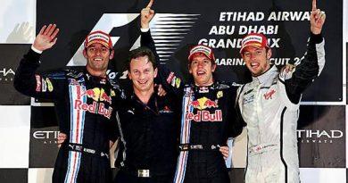 F1: Sebastian Vettel vence última prova em Abu Dhabi