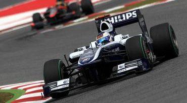 F1: Rubens Barrichello faz corrida de recuperação e chega em 9º lugar na Espanha