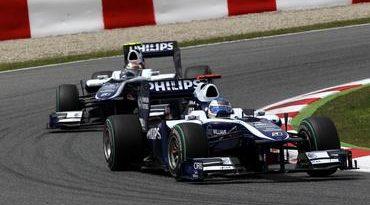 F1: Williams quer manter Barrichello e jovem alemão em 2011