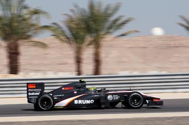 F1: Bruno Senna já sente evolução do carro da HRT
