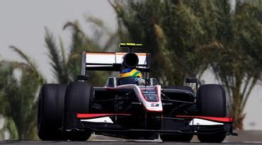 F1: Feliz com avanço, Bruno Senna sonha completar GP do Bahrein