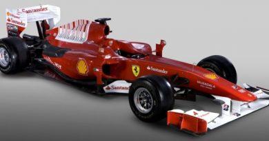 F1: Ferrari é a primeira equipe a apresentar o novo modelo para 2010