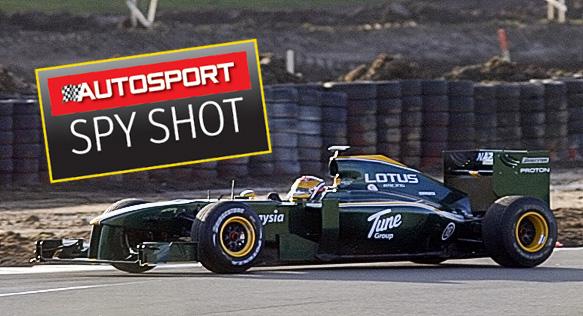 F1: Lotus volta a uma pista de Fórmula 1 após 16 anos