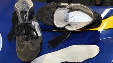 Stock: No calor de Campo Grande amianto é usado em sapatilha