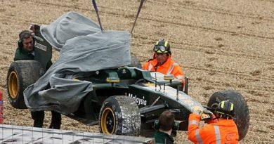 """F1: """"Carro é bom, mas falta aderência"""", diz Kovalainen"""