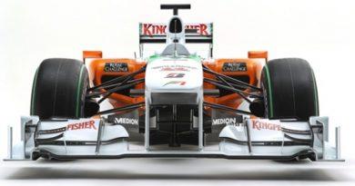 F1: Force India apresenta carro para 2010