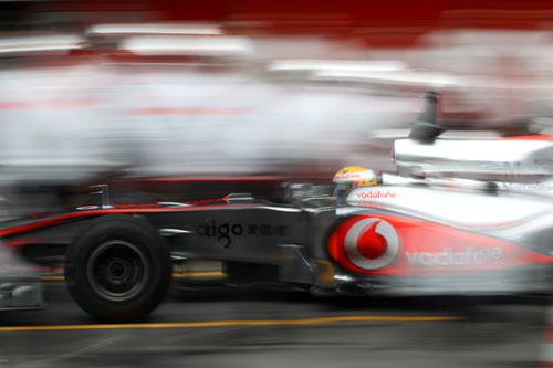 F1: Hamilton marca o melhor tempo no último teste da pré-temporada