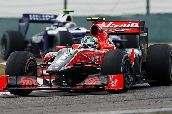 F1: Di Grassi comemora boa quilometragem do dia