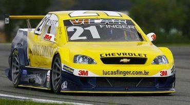Copa Montana: Lucas Finger é o primeiro piloto a andar rápido no Velopark