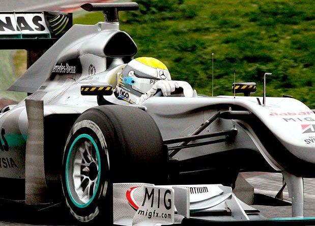 F1: Tempo da manhã de Rosberg foi o melhor do penúltimo dia de testes