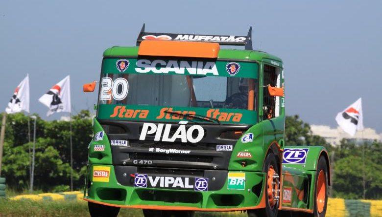 Truck: Em sétimo, Muffato promete que 'vem tempo'