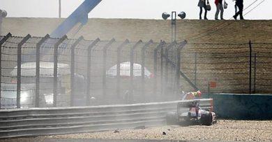 F1: Peça da suspensão causa acidente de Buemi