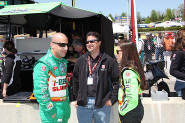 IndyCar: Vou dormir bem esta noite, diz Tony Kanaan