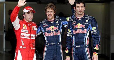 F1: Red Bull Racing passeia e Vettel é pole em Silverstone