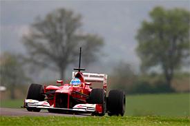 F1: Alonso é o mais rápido no 1º treino na Espanha; Massa é o 12º