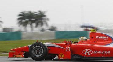 GP2 Series: Razia abre ano na primeira fila em Sepang