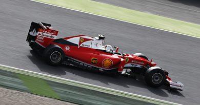 F1: GP Brasil de Fórmula 1 expõe carro da Ferrari em Viracopos