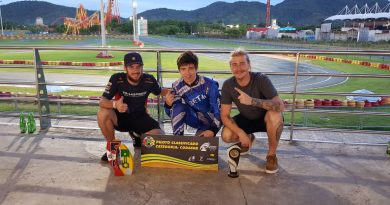 Kart: Bruno Smielevski subiu no pódio da Copa SPR Light e garantiu vaga no Campeonato Brasileiro
