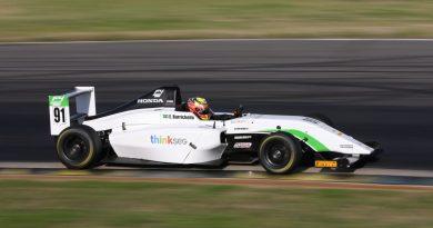 Dudu Barrichello faz sua estreia na Fórmula 4 americana