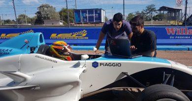 Fórmula Sul-Americana: Paraguaio completa testes em El Pinar