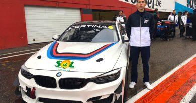 Luiz Otávio Floss está pronto para sua estreia na GT4 European Series neste final de semana