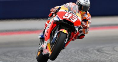 MotoGP: Marc Márquez lidera primeiro treino livre nos EUA; Rossi fica em segundo