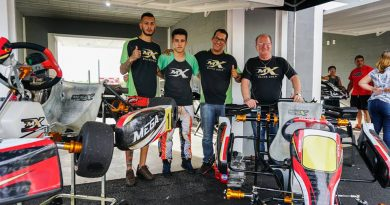 Mega Kart participou de evento no Speed Park e ofereceu test drive do novo chassi Mega Black 2.0