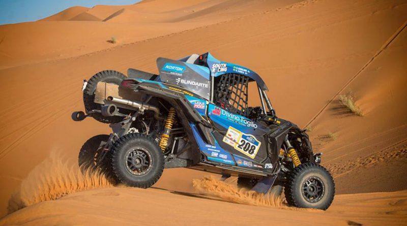 Brasileiros vencem espetacularme Merzouga Rally, o Mini-Dakar