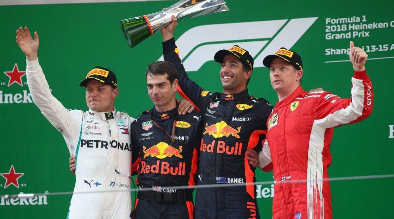F1: Ricciardo nega assinatura de pré-contrato com a Ferrari