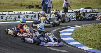 Kart: Vinícius Tessaro venceu as três baterias e garantiu o título da Júnior Menor no Sul-Brasileiro