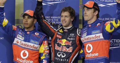 F1: Vettel bate Hamilton no fim e iguala recorde de poles de Mansell